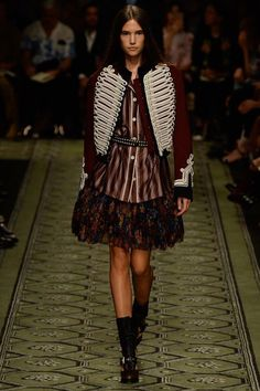 Johanna Defant for Burberry - Fall 2016 Ready-to-Wear