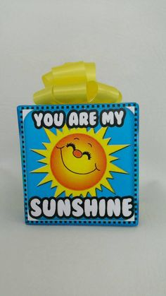 You are my Sunshine music box wrapped as a gift by JJMusicBoxes