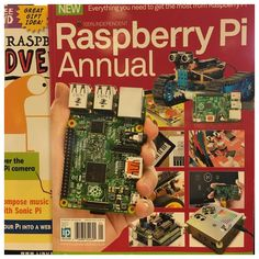 Something we loved from Instagram! The #youths expressed an interest in #robotics. That is a computer in the hand on the cover of the #magazine. Now I have to #research further to order purchase and assemble components then load the #OperatingSystem and #program the #robot. Not enough time in the day. #RaspberryPi #programming #Science #Technology #Engineering #Mathematics #STEM #robotics #computers #tech #technology by mister_t247 Check us out http://bit.ly/1KyLetq