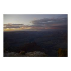 A Grand Grand Canyon Sunset Print from Florals by Fred #zazzle #gift #grandcanyon