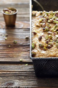 Middle Eastern Tahini, Date, and Cardamom Bulgur Wheat Breakfast Bake Recipe
