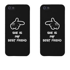 She& My Best Friend Cute Matching Phone Cases for Friends f . Best Friend Cases, Best Friends, Matching Phone Cases, Birthday Gifts For Best Friend, Tech Accessories, Bff, I Am Awesome, Iphone, Cute