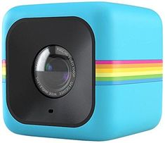 Polaroid Cube HD Lifestyle Action Video Camera (Blue)[Discontinued by Manufacturer] Polaroid Cube, Polaroid Camera, Gifts For Teen Boys, Gifts For Teens, Action Cam, Kids Stockings, Stocking Stuffers For Kids, Little Camera, Video Capture