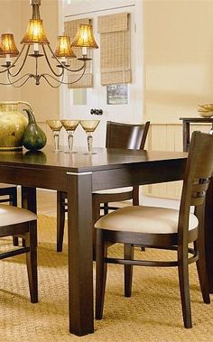 Halo Ebony Round Dining Table With 48 Quot Glass Top More