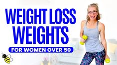 20 Minute WEIGHT LOSS Weights Workout for Women over 50 ⚡ Pahla B Fitness