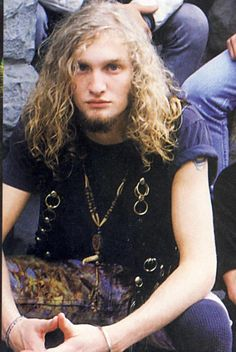 Layne Staley... Not fair that all of the great talent gets taken out of the world but thank god we had them at some point and their music and messages live on!