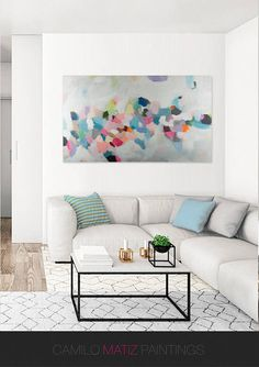 Modern Art Abstract Painting Original Painting Canvas Art