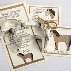 Cookie Cutter Horse Cooke Cutter Party Favors by ThePartyFairy, $4.75