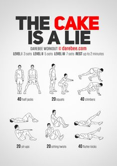 The Cake is A Lie Workout