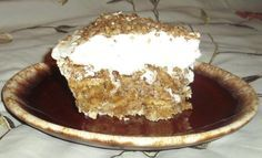 Butternut Brownie Pie......no brownies, but graham crackers instead!!!  Another jewel from Luby's!