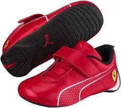 10b6415f8cf Scuderia Ferrari Future Cat Ultra V Preschool Sneakers White Puma Shoes