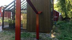 Bygg en pergola i trädgården på gränsen mellan det odlade och det vilda   Bygga och bo   svenska.yle.fi Garden, Garten, Lawn And Garden, Gardens, Gardening, Outdoor, Yard, Tuin