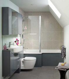 [ Concept Square Shower Bath From Ideal Standard Baths Aqualux Aqua Clear Glass Screen ] - Best Free Home Design Idea & Inspiration Bathroom Cupboards, Bathroom Layout, Bathroom Wall, Bathroom Storage, Bathroom Interior, Bathroom Ideas, Towel Storage, Family Bathroom, Boho Bathroom