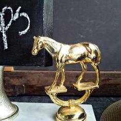 Mini Menu Board - Vintage Horse Trophy Chalkboard Signage