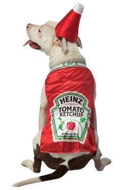 Heinz Kechup Dog Costume