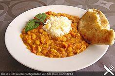 Indisches Hähnchencurry mit Kichererbsen, ein raffiniertes Rezept aus der Kategorie Geflügel. Bewertungen: 112. Durchschnitt: Ø 4,6.