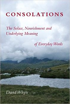 Amazon.com: Consolations: The Solace, Nourishment and Underlying Meaning of Everyday Words (9781932887365): David Whyte: Books