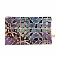 "Pia Schneider ""Melange Of Circles III "" Pink Purple Everything Bag from KESS InHouse"