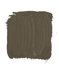 """BENJAMIN MOORE NORTH CREEK BROWN 1001: """"This dark, warm, rich bronze is very, very sexy. Strong and masculine, yet it doesn't shout. It can take any room from casual to sophisticated. It works really well with metal furniture. I've put purple and lavender, yellow and orange up against it, and they really set each other off. And artwork looks amazing on dark walls."""" -Philip Nimmo    - HouseBeautiful.com"""
