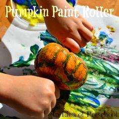 rolling pin pumpkin painter