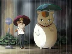 Oh, yes. Natsume Yuujinchou and Totoro. Very few modern day anime that aren't all about pet girls doing obviously gross things. Why doesn't anyone care about Natsume Yuujinchou and Totoro...? please, I want... No, NEED Japan to be fixed. I want good anime back. Or at least the good ones being popular... Someone, help me.