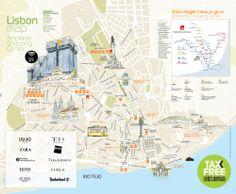 Free Lisbon City Map
