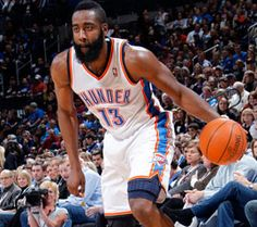 James Harden. Miss this guy in Thunder, but I am glad he'll have the chance to shine with the Rockets.