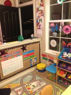 home daycare layout ideas | Small room home daycare layout