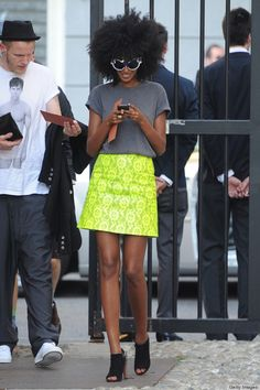 french street style   Julia Sarr-Jamois Is Our New Favorite Street Style Star (PHOTOS)