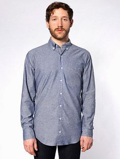 chambray oxford shirt [this is Max's shirt but only I ever wear it, I like it cause it's loose and I like to wear loose things these (heavier) days]