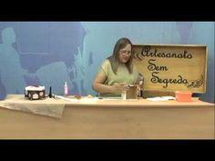 Programa Artesanato Sem Segredo (25/04/16) - Caixa com Flores - YouTube