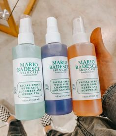 Mario badescu face care shared by Evelyn Ryan Beauty Care, Beauty Skin, Beauty Hacks, Skin Routine, Face Skin Care, Tips Belleza, Aesthetic Makeup, Skin Tips, Skin Makeup