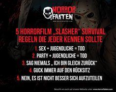 Mit diesen 5 Survival Tipps übersteht ihr jeden Slasher Horror-Film