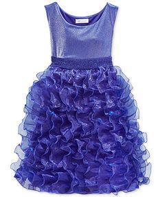 Bonnie Jean Little Girls' Organza Ruffle Dress $37