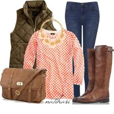 """Fall Outfit"""" by natihasi on Polyvore"""