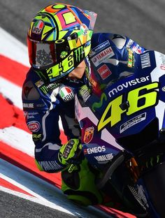 """skwarka: """" #the 39 on his helmet is so lovely (thesmallguys) it's so subtle I haven't noticed it for some time. I really like it, Vale put Luis' number on pink, just as he would loved it. """""""