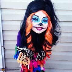 Skelita Calaveras - 2013 Halloween Costume Contest via @costumeworks please vote for Bella!! Scroll over the stars and vote 5 stars!! Thank you :)
