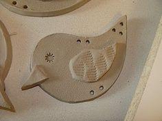 Wild & Wiry Clay Birds