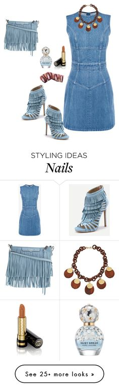"""""""Untitled #166"""" by anaflores7822 on Polyvore featuring Alexander McQueen, Rebecca Minkoff, Marc Jacobs, Gucci and Kenneth Jay Lane"""
