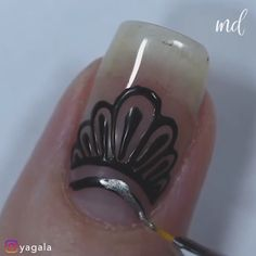 Look gorgeous from head to toe with these nails on! Funky Nail Art, Funky Nails, Pretty Nail Art, Trendy Nails, Funky Nail Designs, Nail Art Designs Videos, Nail Art Videos, Diy Nails, Swag Nails