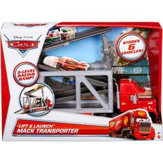 Disney Cars Lift and Launch Mack Transporter - COOPER