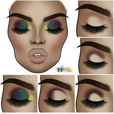 Eye Makeup Steps, Makeup Eye Looks, Sexy Makeup, Eyebrow Makeup, Eyeshadow Makeup, Makeup Cosmetics, Makeup Tips, Eyeshadows, Creative Eye Makeup