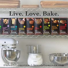 Live. Love. Bake.