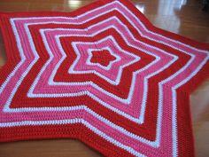 Chromium Star Blanket free crochet pattern