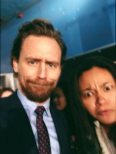 """Tom Hiddleston, after admiring my Hamlet book and taking a selfie, went to the next person then turned back and asked 'was that funny enough?' after I'd asked him for a funny face!... (https://twitter.com/wonderkid_100/status/959390064676655105 ) #TomHiddleston #EarlyMan"