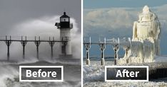 10+ Before-And-After Photos Of Winter's Beautiful Transformations | Bored Panda