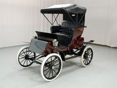 1909 Waverley Electric Model 74 Stanhope - The Waverley Company produced electric cars in Indianapolis from 1898 to 1916.
