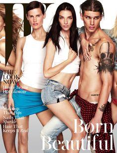 Models Rule W Magazines November 2014 Cover