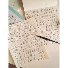 Calligraphy 101.