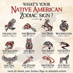 Native American Zodiac Signs, Native American Symbols, Native American Horoscope, Native American Tattoos, Cherokee Symbols, Native American Totem, Native American Cherokee, Native American Indians, Native Americans